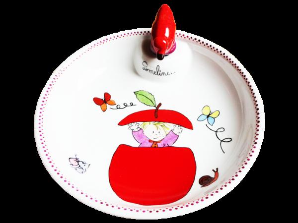 assiette enfant porcelaine