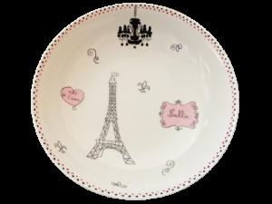 assiette chaude pour enfants en porcelaine