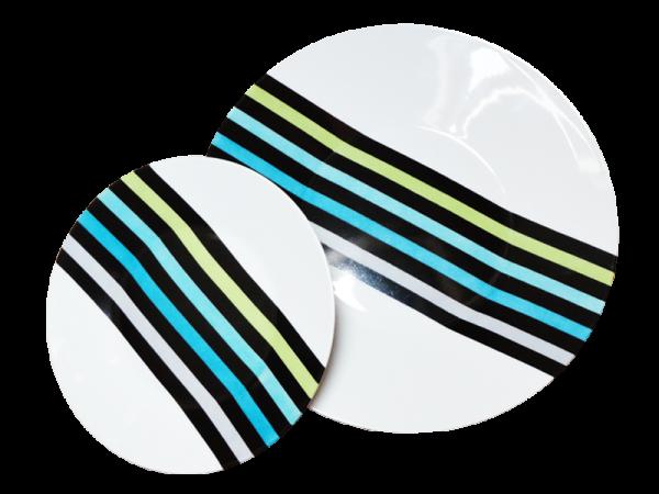 assiette ronde porcelaine